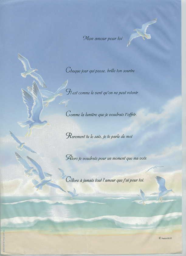 Poeme oiseau amour   ceremei