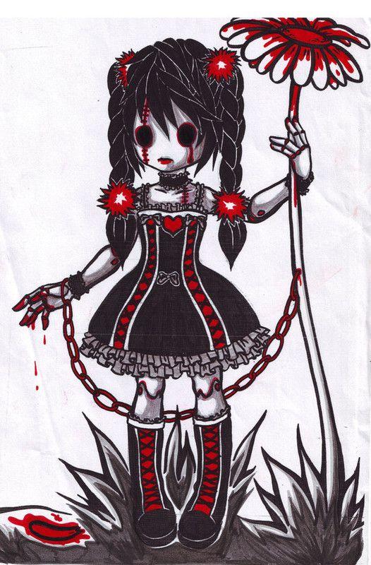Manga gothique page 8 - Dessin gothique ...